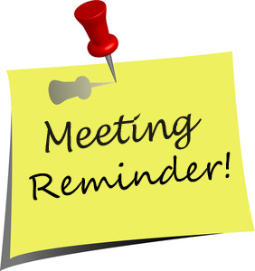2017-11 Meeting Reminder 2
